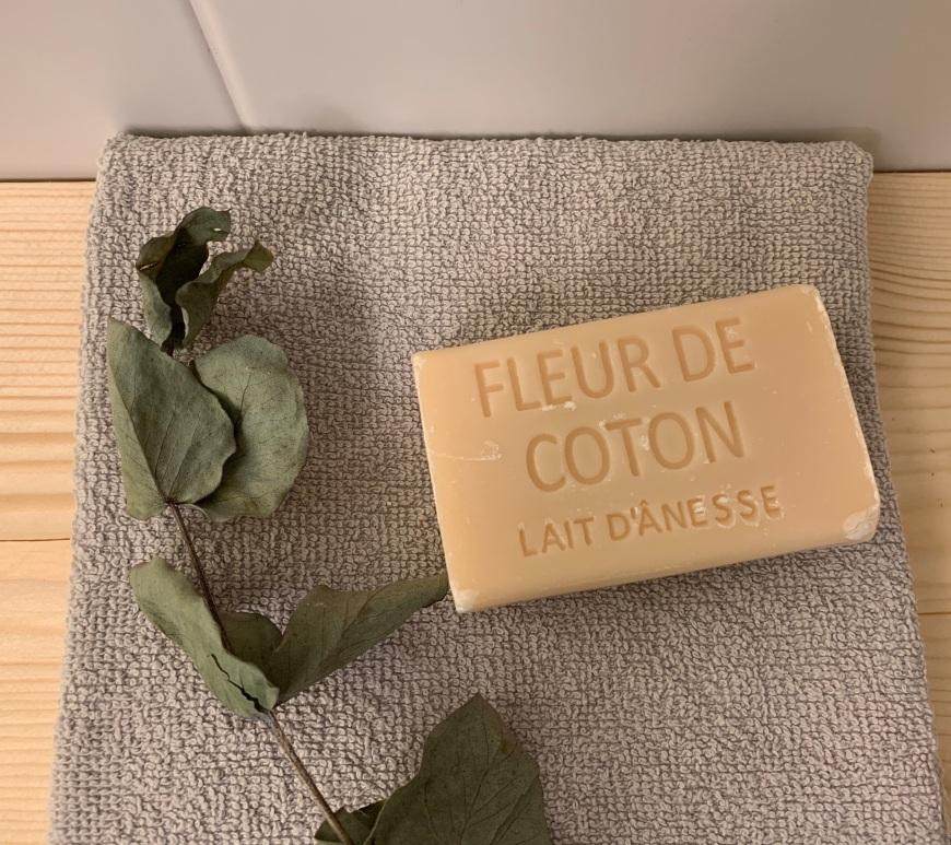 Savon au lait d'ânesse fleur de coton
